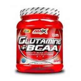 GLUTAMINA + BCAA 530GR FRUTAS DEL BOSQUE AMIX