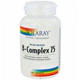 B-COMPLEX 75 100CAPS SOLARAY