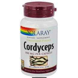 CORDYCEPS 500MG 60CAP SOLARAY