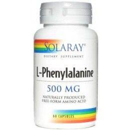 L-FENILALANINA  60 CAP     SOLARAY