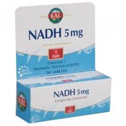 NADH 5MG 30 TAB   KAL SOLARAY