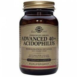 ACIDOFILUS AVANZADO 40+ 60 CAP SUPLEMENTOS SOLGAR