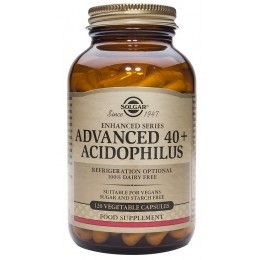 ACIDOFILUS AVANZADO 40+ 120 SUPLEMENTOS SOLGAR