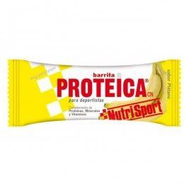 BARRITA PROTEICA PLATANO NUTRI SPORT