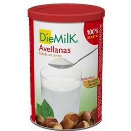 LECHE AVELLANAS POLVO DIEMILK NUTRIOPS