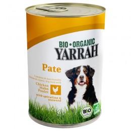 Yarrah Paté ecológico de pollo en latas 275g