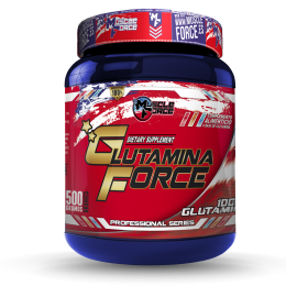 GLUTAMINA 500GR MUSCLE FORCE MUSCLE FORCE