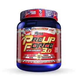 PRE UP FORCE 3.0 300G FRUTAS DEL BOSQUE MUSCLE FORCE