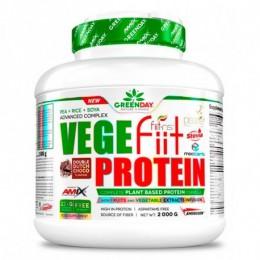 Vegefiit Protein 2kg. Cacahuete-Chocolate Amix