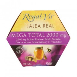 ROYAL VIT MEGA TOTAL 2000       20 VIALES DIETISA