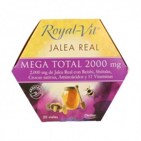 ROYAL VIT MEGA TOTAL 2000       20 VIALES DIETISA