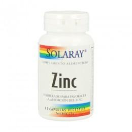 ZINC 50mg 60CAPS SOLARAY