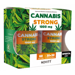 CANNABIS STRONG NOVITY 30+30 CAPSULAS DIETMED