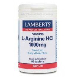 L-ARGININA HCL 1000MG 90 TAB LAMBERTS ESPAÑOLA S.L