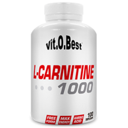 L-CARNITINA 1000MG 100CAP VIT.O.BEST