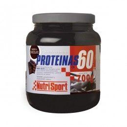 PROTEINAS 60% 700GR CHOCO              NUTRI SPORT