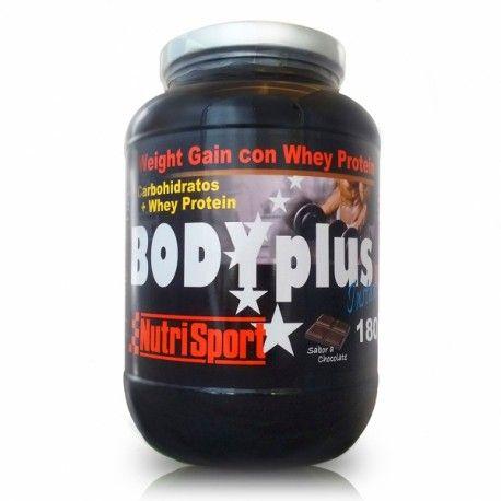 BODY PLUS 1800GR  CHOCOLATE            NUTRI SPORT