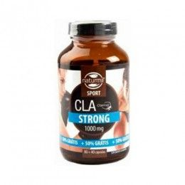 CLA STRONG 1000MG 80+40 CAP NATURMIL