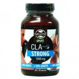 CLA STRONG 1000MG  40+20 CAP NATURMIL
