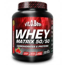 WHEY MATRIX 50/50  1KG FRESA VIT.O.BEST