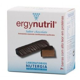 ERGYNUTRIL BARRAS CHOCO 7UDS         NUTERGIA S.L.