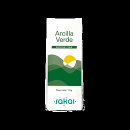 ARCILLA VERDE 1KG SAKAI