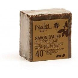 JABON DE ALEPO 40% 185GR NAJEL